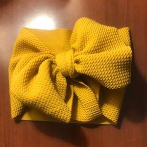 Handmade headwrap bows